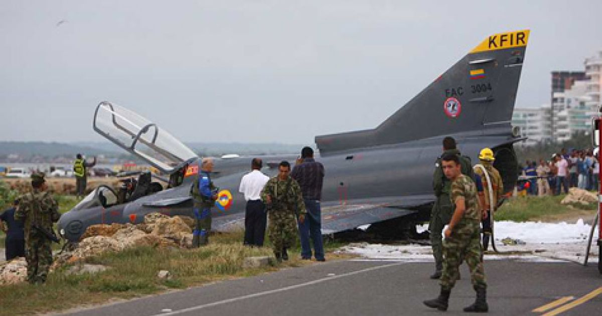 Israel News: Israel-made Jet Fighter Crashes In Columbia Army Accident