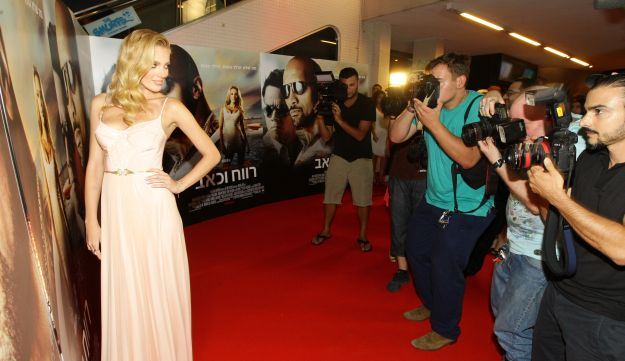 "Bar Paly at the Israeli premiere of ""Pain & Gain""."