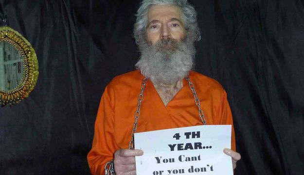 Retired-FBI agent Robert Levinson, who disappeared in March 2007, appears in an undated photo.