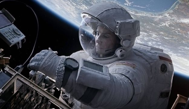 Still image from the movie 'Gravity.'