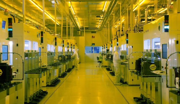 Semiconductor production facility (illustrative)