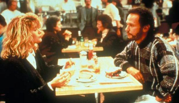 A scene from 'When Harry Met Sally' shot at Katz's deli.