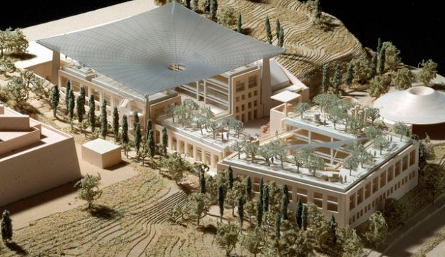 Campus design for archaeology center.