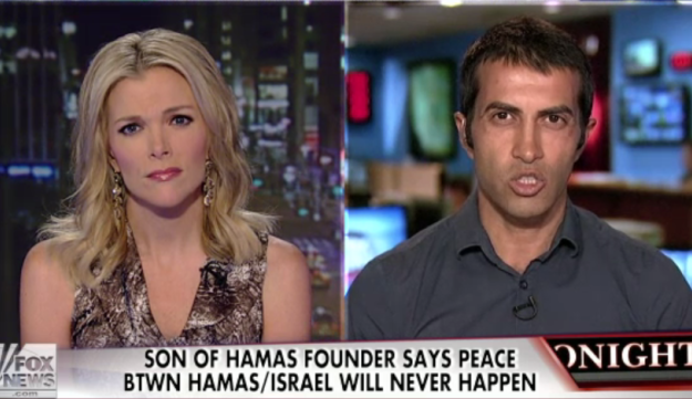 Son of founder of Hamas