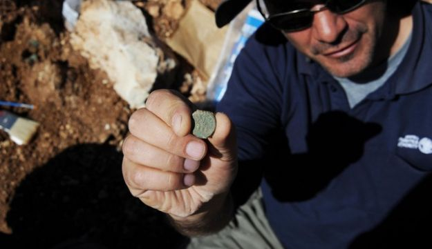 Coins found near Jerusalem, from 4th year of Jewish Revolt