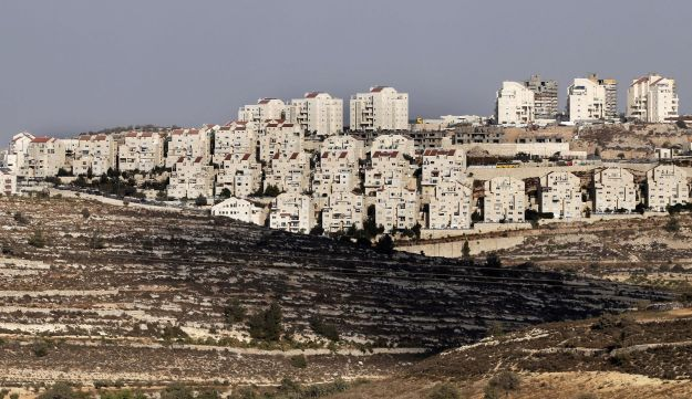 The West Bank settlement of Efrat is seen on September 1, 2014.