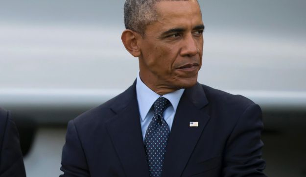 U.S. President Barack Obama at the NATO summit in Newport, Wales, Sept. 5, 2014