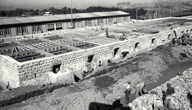 The Mauthausen concentration camp.