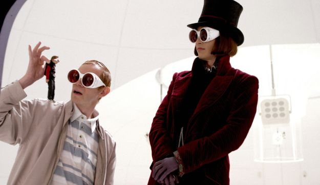 "From the film ""Charlie and the Chocolate Factory."""