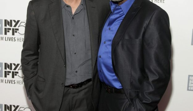 """Richard Gere and Ben Vereen attend a screening of """"Time Out Of Mind"""" at the New York Film Festival."""
