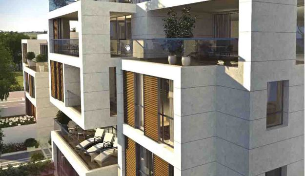 A rendering of the new condo project The Hamptons in Herzliya Pituach, a brainchild of Rabbi Marc Sc