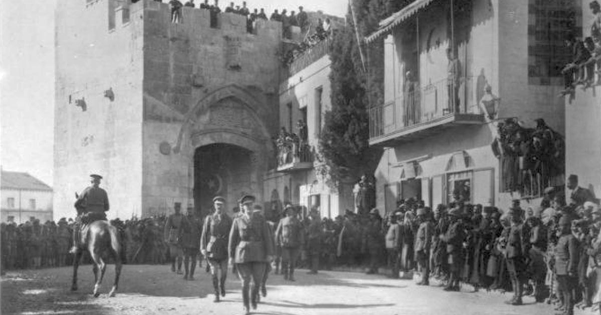 1917 General Allenby Shows How A Moral Man Conquers Jerusalem