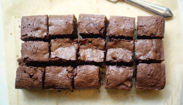 Kosher for Passover parve chocolate brownies
