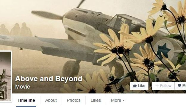 Facebook page for documentary `Above and Beyond'