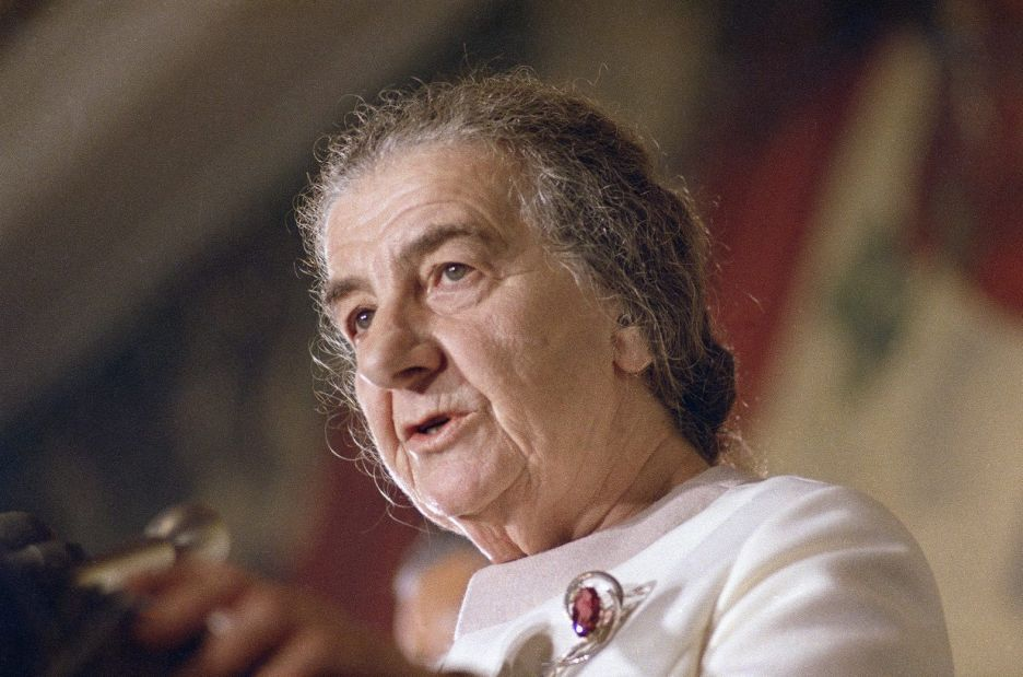 a biography of israeli leader gilda meir Golda meir biography takes top honor in national jewish book awards francine klagsbrun's 800-page work on the late israeli prime.