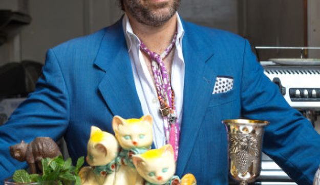 Richard Kimmel, the owner of Jewish-soul food venues Kitty's Canteen and Kitty's-a-Go-Go in Manhattan.