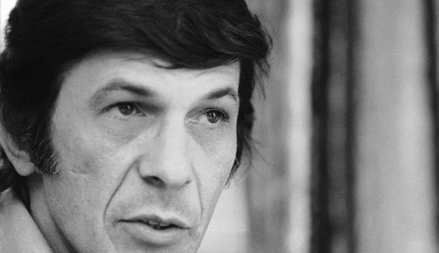 Actor Leonard Nimoy speaks during an interview in New York, June 28, 1973.