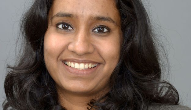 Lakshmi Iyer, selling the India fixed-income story around the world.