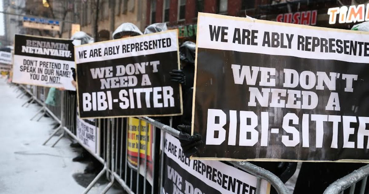 Thousands of ultra-Orthodox Jews protest in NYC over Netanyahu's