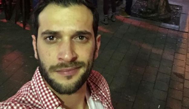Alon Bakal, one of the people killed in the Tel Aviv shooting on January 1, 2016.