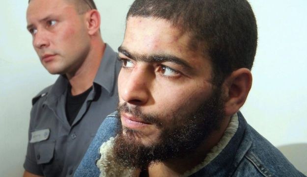 The suspected assailant in the Tel Aviv shooting in a 2007 photo.
