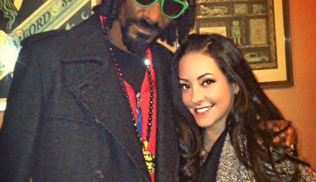 Dina Browner and the rapper formerly known as Snoop Dogg