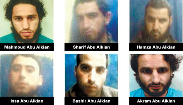 Six Negev Bedouin arrested for pro-ISIS activity.