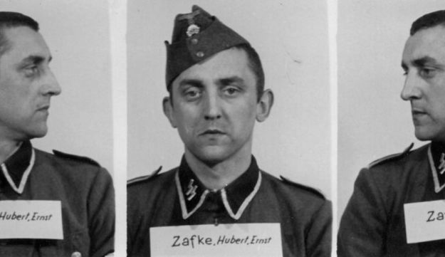 The undated photo provided by the Archive of the State Museum Auschwitz-Birkenau shows SS Oberscharfuehrer Hubert Zafke. Zafke, now 95, is scheduled to go on trial at the end of February 2016.