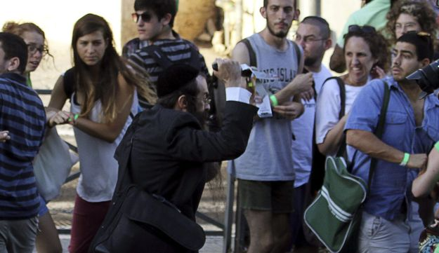 Orthodox Jewish assailant stabs participants at gay pride parade in Jerusalem. July 30, 2015.