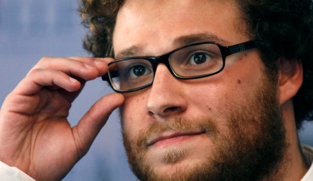 Seth Rogen poses during a photoshoot at a film festival in France, September 2, 2007.