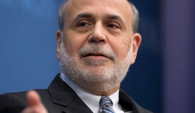 Ben Bernanke, former chairman of the U.S. Federal Reserve, at the Brookings Institution, January 16, 2014.
