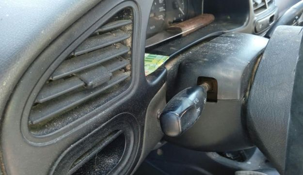A knife was found in the car of the Palestinian assailant in Friday's car-ramming attack at the Gush Etzion junction in the West Bank.