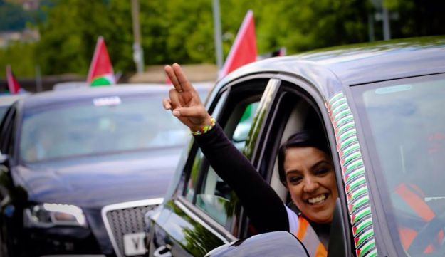 Labour MP Naz Shah as photographed on her Facebook page.