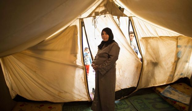 Taleea Farhan, 33, while being pregnant, March 16, 2015