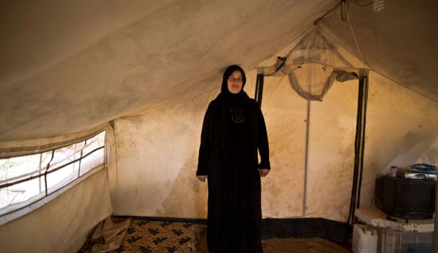 Mona Hussein, 33, while being pregnant,  March 16, 2015