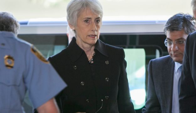 Wendy Sherman was the top U.S. negotiator in the world powers' nuclear talks with Iran