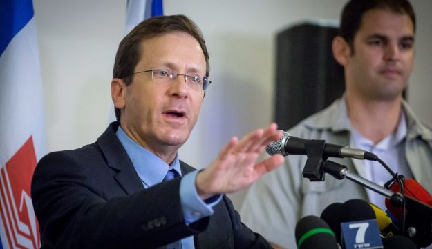 Zionist Union leader Isaac Herzog, May 16, 2016.