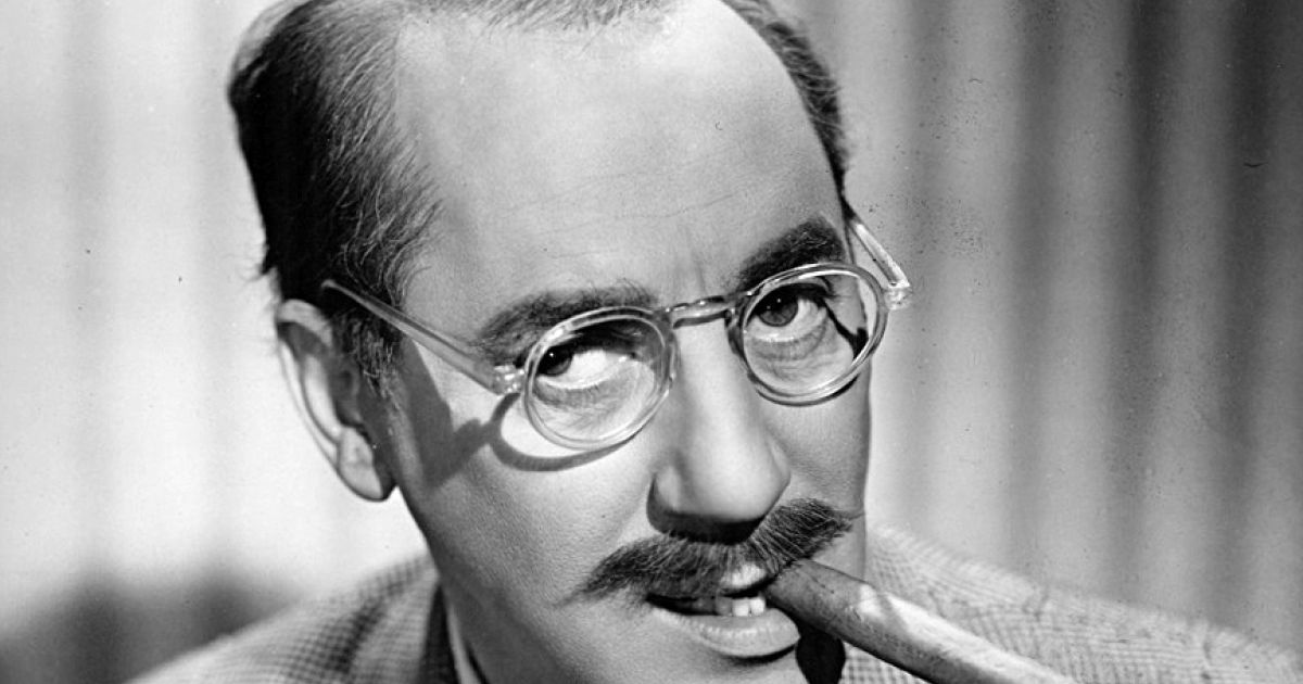 Groucho Marx Is Born World Spared Him Becoming A Doctor Jewish