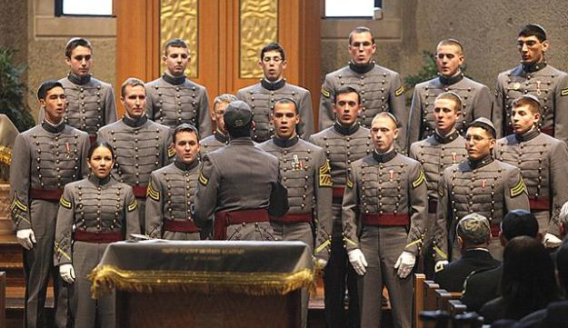 The West Point Jewish Chapel Cadet Choir, today.