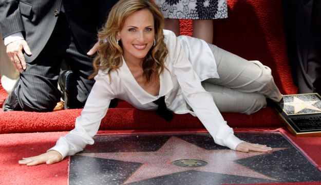 Actress Marlee Matlin