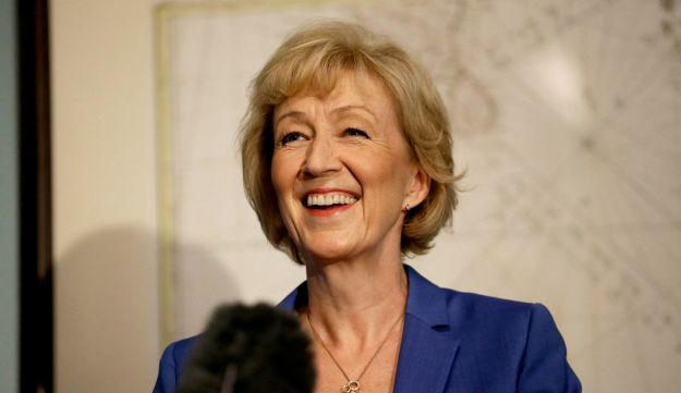 British ruling Conservative Party Member of Parliament, Andrea Leadsom, launches her campaign in London July 4, 2016.
