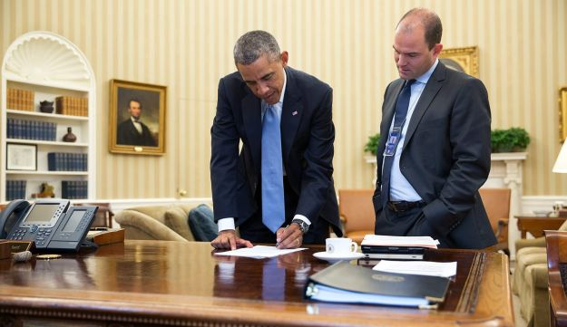 Obama and Rhodes