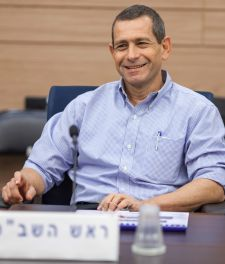 Shin Bet head Nadav Argaman during his overview to the Knesset Foreign Affairs and Defense Committee on Tuesday.