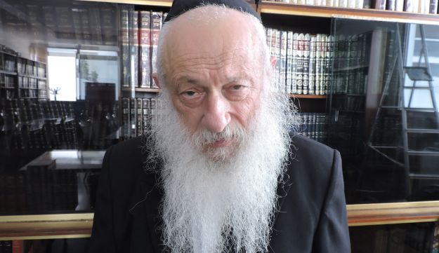 Rabbi Shalom Edelman has been a Chabad emissary in Morocco since 1958.