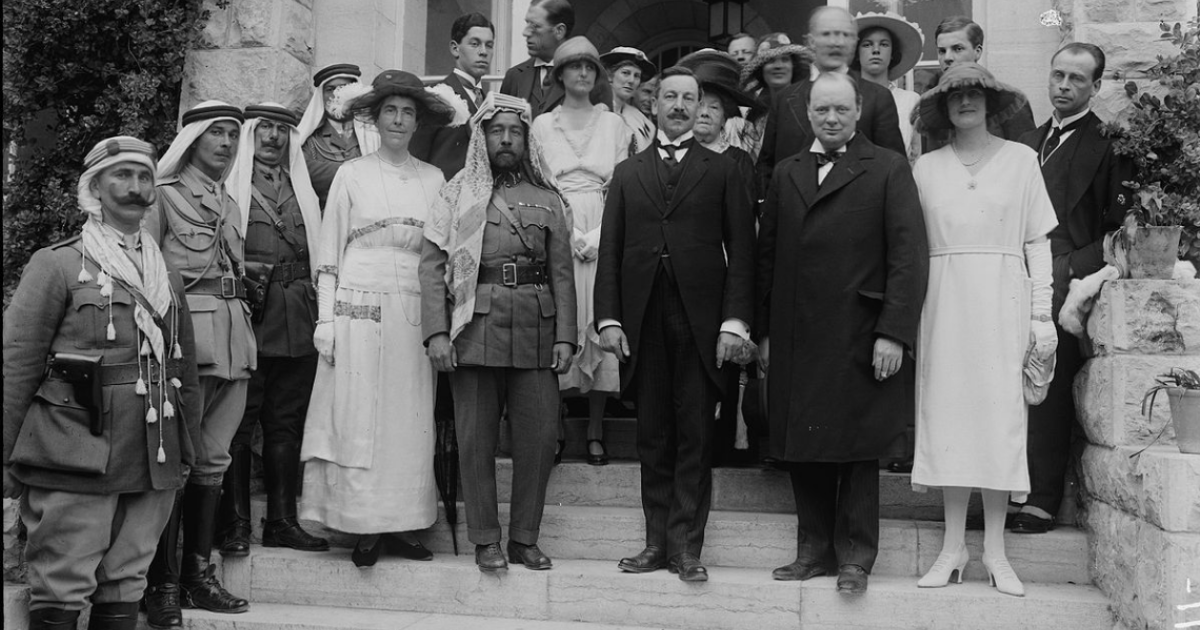 The Balfour Declaration Promised Lebanon And Jordan To The Jews Too