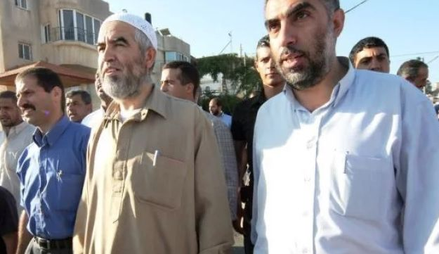 Kamal Khatib and Raed Salah, the leader of the Northern Branch of the Islamic Movement.