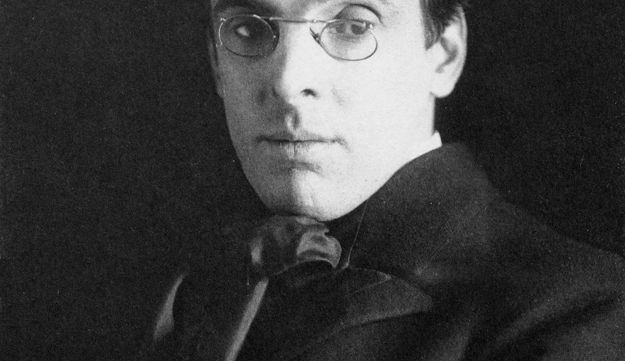 William Butler Yeats, photographed in 1903 by Alice Boughton.