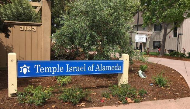 The Temple Island synagogue in Alameda