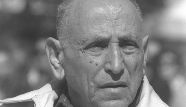 Isser Harel, who headed the Mossad from 1952 to 1963.