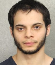 Esteban Santiago, is shown in this booking photo provided by the Broward County Sheriff's Office in Fort Lauderdale, Florida, January 7, 2017.